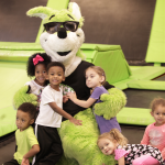 Cumming Kids Toddler Time Launch Trampoline Park