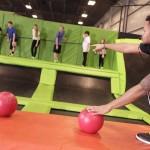 Cumming Launch Trampoline Park Dodgeball Jumping